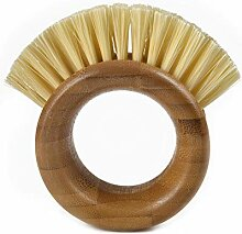 Full Circle The Ring Gemüse-Bürste, Braun