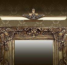 Full Kupfer Spiegel Scheinwerfer Europa und den Vereinigten Staaten Bad Tisch waschen Süßigkeiten Waschbecken LED Lampe WC ( Farbe : 43cm*19cm )