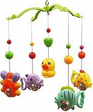 Fulla2116 Baby Crib Mobile Musik Bett Bell