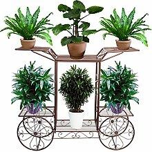 FullBerg Blumenregal Pflanzentreppe Metall für