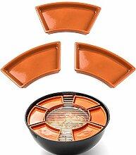 FUMOSA keramische Grillschale Ronda für 57cm