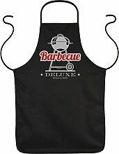 Fun Grillschürze: Barbecue Deluxe Steak & Beer -