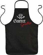 Fun Grillschürze: Gourmet Griller - schwarze