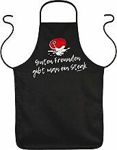 Fun Grillschürze: Guten Freunden gibt man ein