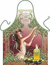 Fun Grillschürze: Olivenernte - bedruckte Grill- und Kochschürze mit gratis Urkunde