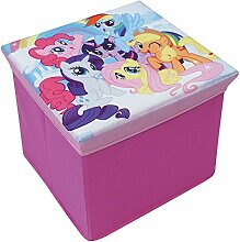 Fun House 712527My Little Pony Hocker Aufbewahrungsbox für Kinder Karton/Vlies 30x 30x 30cm
