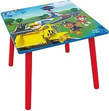 Fun House 712593Pat Patrouille Quadrat Tisch für Kinder Holz MDF blau 50x 50x 44cm