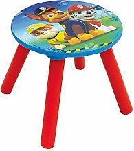 Fun House 712594Pat Patrouille Hocker für Kinder Holz MDF blau 28x 28x 26,5cm