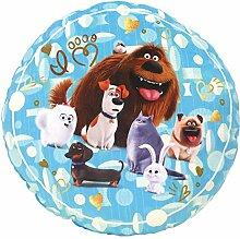 Fun House 712709Kissen rund Design wie der Tiere Polyester blau 37x 12x 37cm
