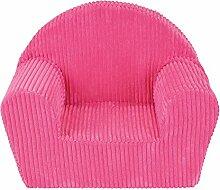 Fun House 712721Sessel Club Rosa aus Schaumstoff für Kinder Bezug 100% Polyester, Schaumstoff 100% Polyether 52x 33x 42cm