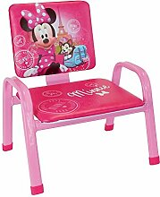 Fun House Disney Minnie Paris Mein erstes Sessel für Kinder, PVC, Stahl, Schaumstoff, 34x 32x 39cm