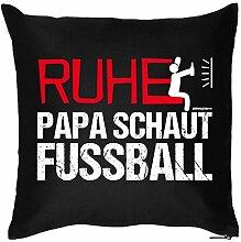 Fun Kissen Papa Dad Vatertag Vatertagsgeschenk Geschenkidee Kissen mit Füllung Geburtstag Weihnachten