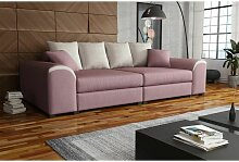 Fun Moebel - Big Sofa Couchgarnitur WELLS Megasofa