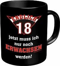 Fun Tasse mit Spruch Ich bin faul, frech, unreif aber lustig!