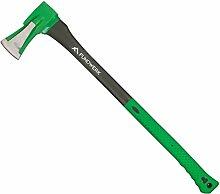 Fundwerk Spalthammer, Axt mit 80 cm Stiellänge,