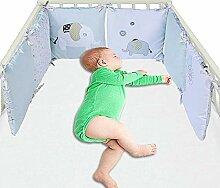 Funihut 6er Set Bettumrandung Baby Nestchen Baby