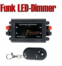 FUNK LED Dimmer m. Fernbedienung Controller Regler für 12V LED Strip Band DI1