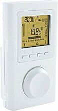 Funk-Raumregler X3D, Funk-Thermostat/Funksender, APP-fähig, für AeroFlow-Elektroheizung mit X3D-Funkempfänger
