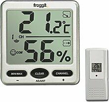 Funk Thermometer FT007 mit 1 Aussensensoren XXL