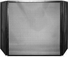 Funkenschutz / Funkenschutzgitter schwarz klappbar