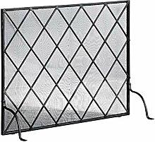 Funkenschutzgitter Single Panel Iron Kamin