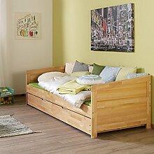 Funktionsbett ausziehbar mit Bettschublade ●