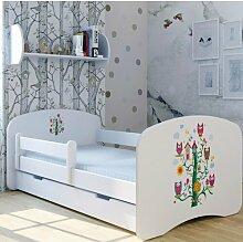 Funktionsbett Baumhaus mit Matratze und Schublade