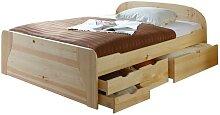 Funktionsbett Doppelbett mit Schubkästen