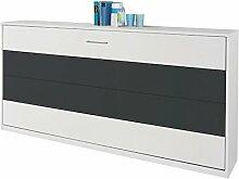 Funktionsbett Susi 2 90*200 cm weiß / grau