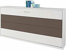 Funktionsbett Susi 90*200 cm weiß / grau +
