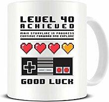 Funky NE Ltd Kaffeebecher, Motiv Level 40,