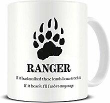 Funky NE Ltd Kaffeebecher, Motiv: Ranger Fantasy