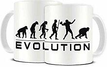 Funky NE Ltd Kaffeetasse aus Keramik, Motiv