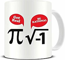Funky NE Ltd Kaffeetasse mit Aufschrift Get Real