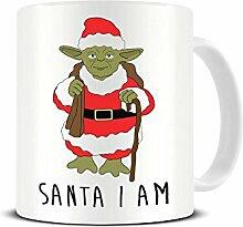 Funky NE Ltd Yoda 'Santa I Am' – Star