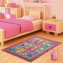 Funkybuys Kinder-Spielteppich, modernes Design,