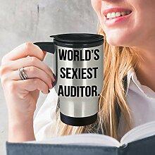 Funny Auditor Travel Mug Best Gift for Trainee