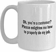 Funny Customer Service Gift - Customer Service