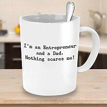 Funny Entrepreneur Dad Kaffeetasse Geschäftsmann