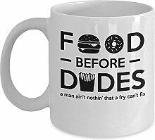 Funny Food Mug-Essen vor Jungs Kaffee &Tee