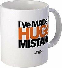 Funny Großer Fehler Kaffee Becher für Frauen