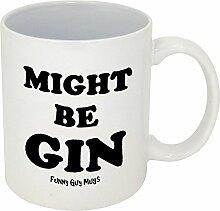 Funny Guy Mugs Might Be Gin Kaffeebecher, Keramik,