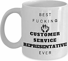 Funny Job 11oz Coffee Mug - Best Fucking Customer