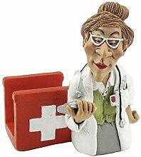 Funny Job Notizzettel-Handyhalter - Ärztin mit