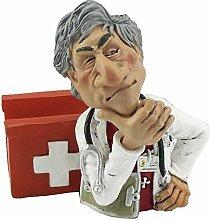 Funny Job Notizzettel-Handyhalter - Arzt mit