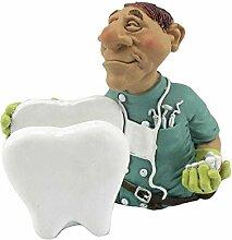 Funny Job Notizzettel-Handyhalter - Zahnarzt mit Riesenzahn