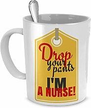Funny Kaffee Becher für Krankenschwestern, Cool,