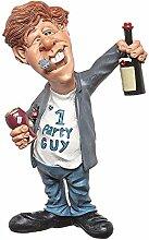 Funny Life Partyboy Geburtstagsfeier Comic Figur