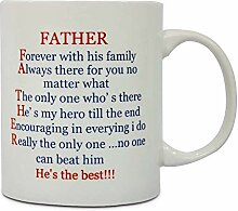 Funny Mug for Fathers Day Gifts You are The Dad