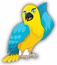 Funny Parrot - Self-Adhesive Sticker Car Window